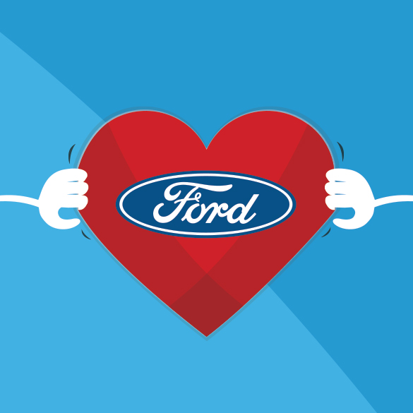 ANIMATED FORD SOCIAL VIDEO